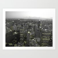 Sydney Lights Art Print