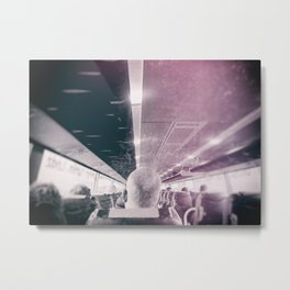 street photo PASSENGER #streetphoto #photo Metal Print