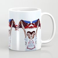 american Mugs featuring AMERICAN by Paparrazzi666