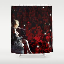 Madonna - La Vie En Rose Shower Curtain