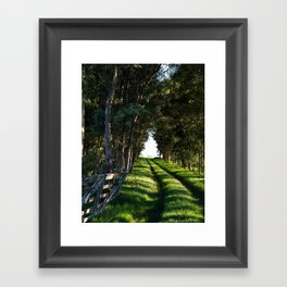 Road Home Framed Art Print