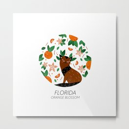 American Cats - Florida Metal Print