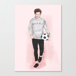 Louis British Rogue Canvas Print