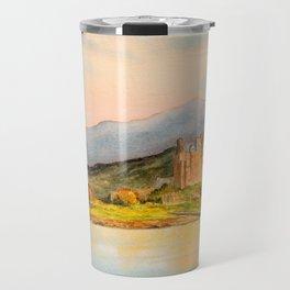 Eilean Donan Castle Scotland Travel Mug