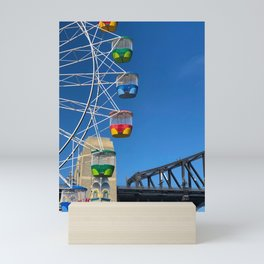Luna Park Ferris Wheel Mini Art Print