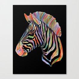 Fantasy Zebra Canvas Print