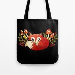 Lazy Foxy Tote Bag