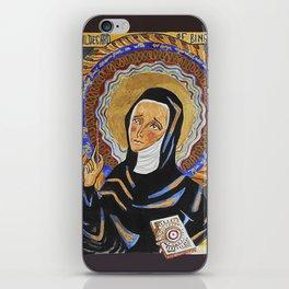 St. Hildegard of Bingen iPhone Skin