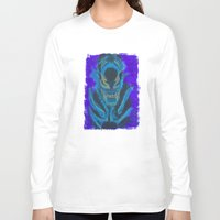 xenomorph Long Sleeve T-shirts featuring Alien Xenomorph  by Dukesman