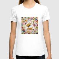 butterflies T-shirts featuring butterflies by Asja Boros