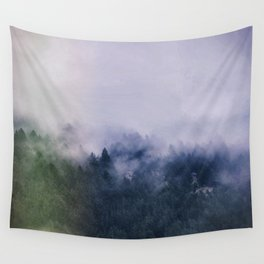 Forest Cump At Autumn Wall Tapestry