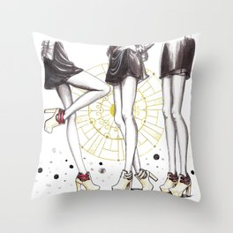CL shoes 03 Throw Pillow