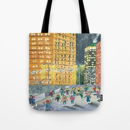 Christmas on Woodward Avenue Tote Bag