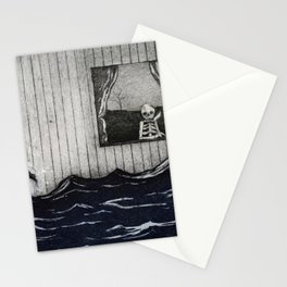 The overflow Stationery Cards