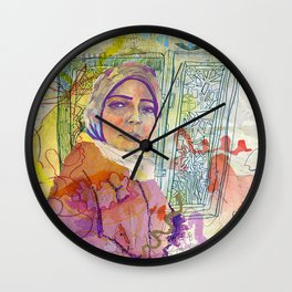 Rights for Immigrants Wall Clock