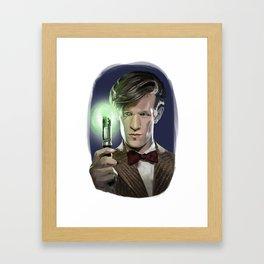 The Eleventh Doctor Framed Art Print