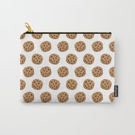 Chocolate Chip Cookies Pattern Carry-All Pouch