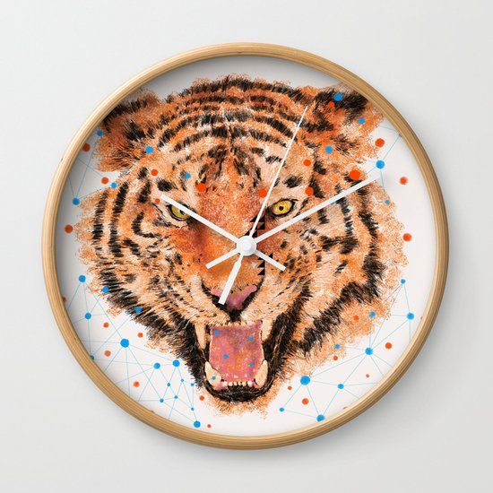 TIGER I Wall Clock
