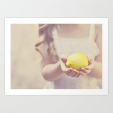 Sweet Lemon Art Print