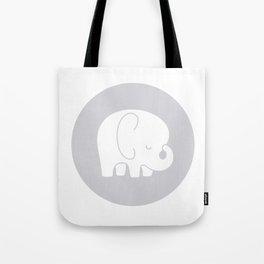 Mod Baby Elephant Grey Tote Bag