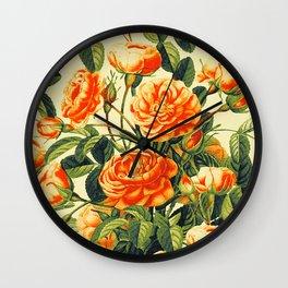 Vintage Garden 26 Wall Clock
