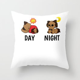 Gamer Level Sleeping Tired Addict funny gift Throw Pillow