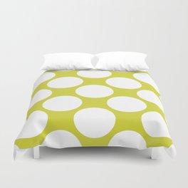 Polka Dots Green Duvet Cover