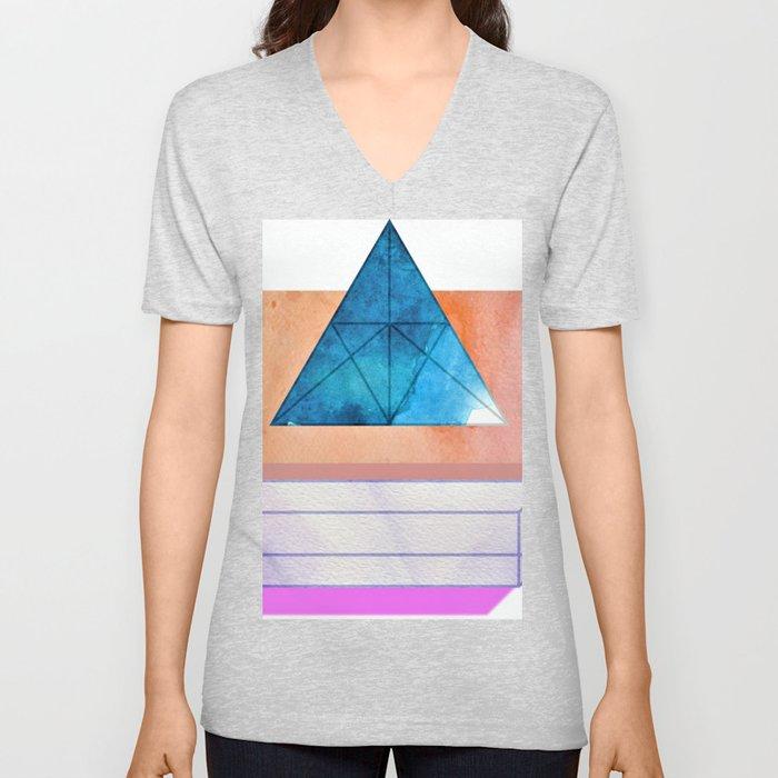 Athena Geometrics Unisex V-Neck