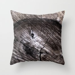 Cut Tree Throw Pillow