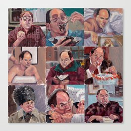 9 shades of Costanzas Canvas Print