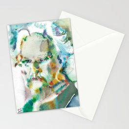 MARK TWAIN - watercolor portrait Stationery Cards