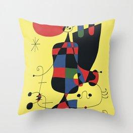 Joan Mirò #2 Throw Pillow