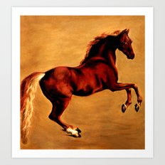 The Horse, after  George Stubbs Art Print
