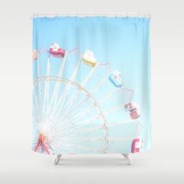 Fryeburg Fair Ferris Wheel Shower Curtain