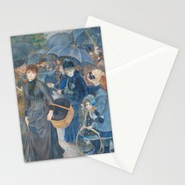 Auguste Renoir - The Umbrellas Stationery Cards