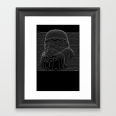 trooper division Framed Art Print