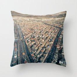 Imperfect Symmetry Throw Pillow