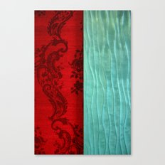 Fabric Ocean Canvas Print