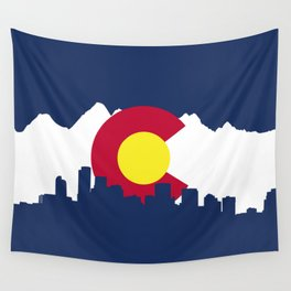 Born and Raised - Colorado Wall Tapestry