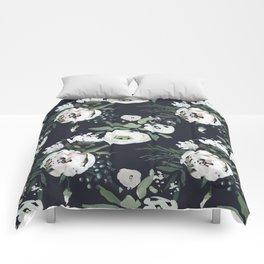 Rustic Floral Print Comforters