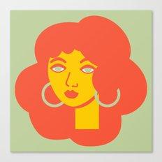 Polly Primrose Canvas Print