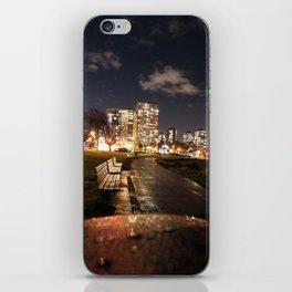 English Bay Long Exposure iPhone Skin