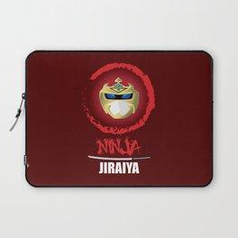Jiraiya, The Incredible Ninja [Red Background Version] Laptop Sleeve