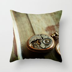 The Conductor's Timepiece - 2 Throw Pillow