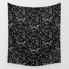 Witchcraft II [B&W] Wall Tapestry