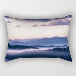 Ultra Violet Lights Rectangular Pillow
