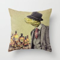 the 100 Throw Pillows featuring 100% Genuine by Eric Fan