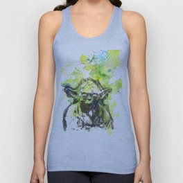 May the Force be with You Yoda Star Wars Unisex Tank Top