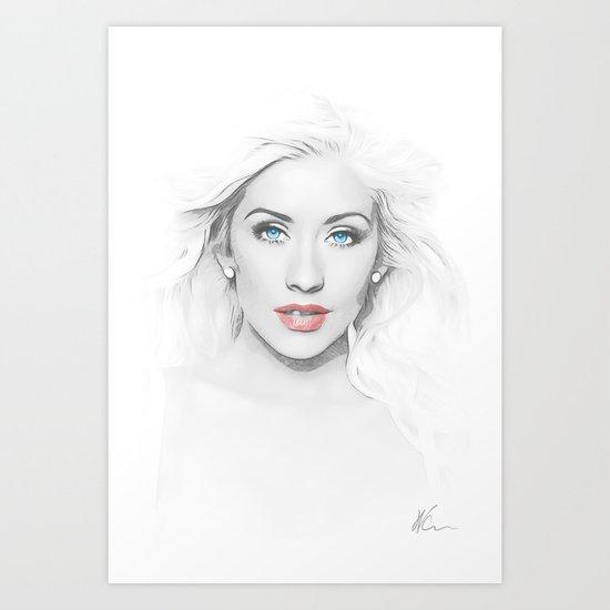 Christina Aguilera - Pop Art by wcsmack