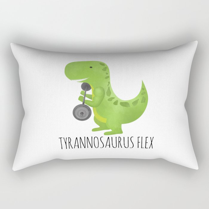 Tyrannosaurus Flex Rectangular Pillow